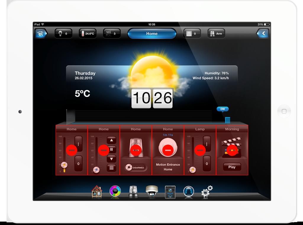 اپلیکیشن فیبارو برای خانه هوشمند